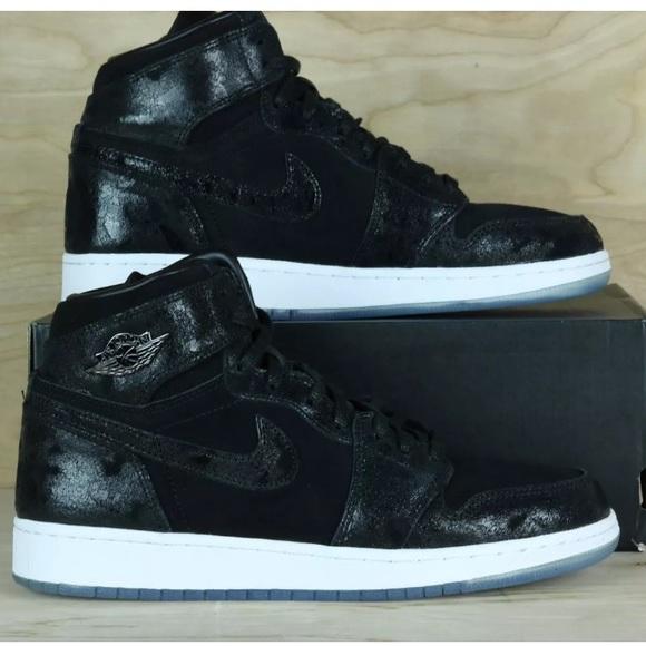 da9bf3b00f6001 Air Jordan One Retro Hi Premium Heiress Shoe